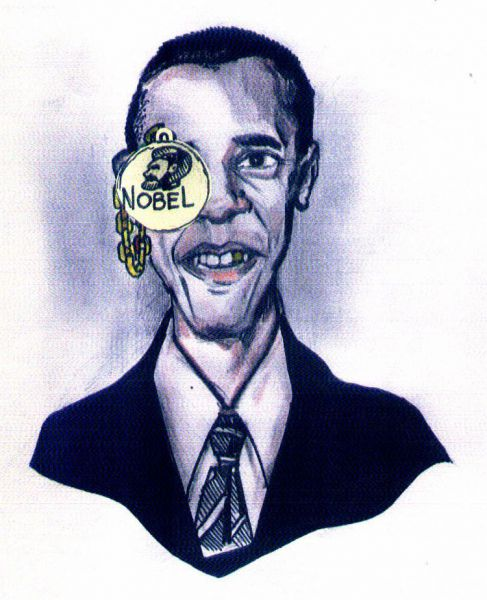 Карикатура: Золотое обеспечение доллара, Литвиненко Андрей