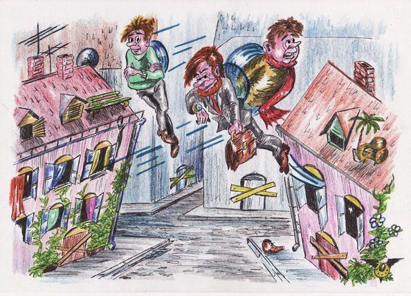 Карикатура: Добро пожаловать в Стокгольм!, Владимир Уваров