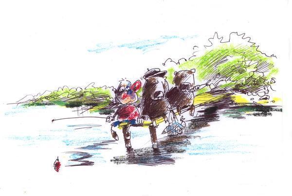 Карикатура: Рыбнадзор, Iofik