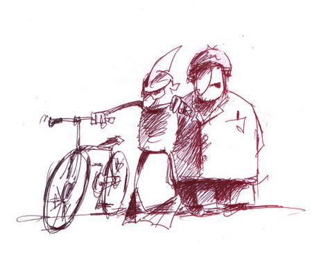 Карикатура: С днем рождения, Ихтиандр..., Iofik