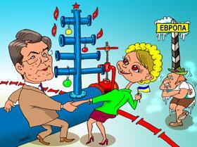Карикатура: Скоро Новый Год!, Евгений Кран