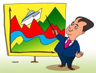 Карикатура: Все будет хорошо!, Евгений Кран