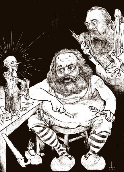 Карикатура: Волшебное полено, Сергей Смирнов
