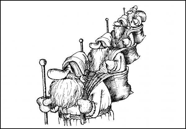 Карикатура, Валерий Дмитриев