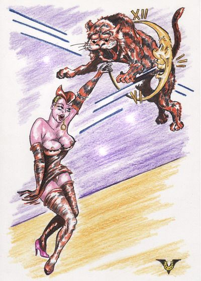 Карикатура: За высокие отношения!, Владимир Уваров