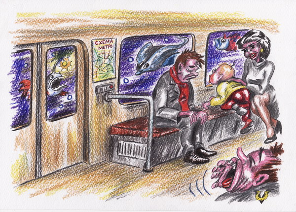Карикатура: Прагматики, Владимир Уваров