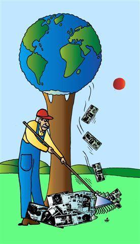 Карикатура: Земля, Alexei Talimonov
