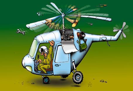 Карикатура: Заработало, Глеб Андросов