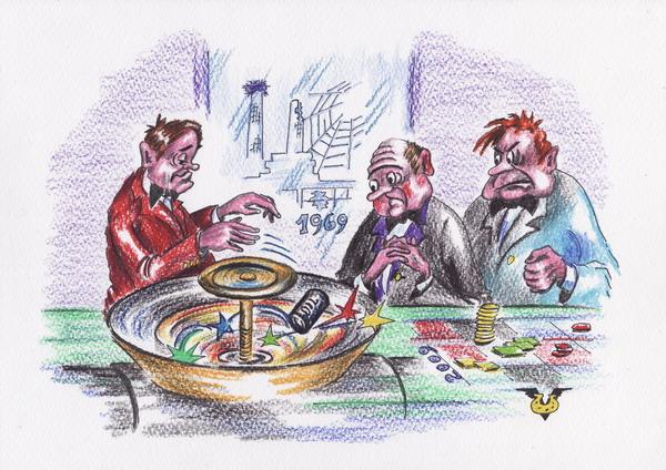 Карикатура: Экономическое планирование, Владимир Уваров