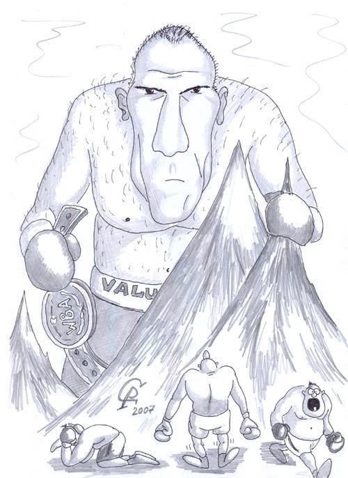 Карикатура: Николай Валуев, Серебряков Роман