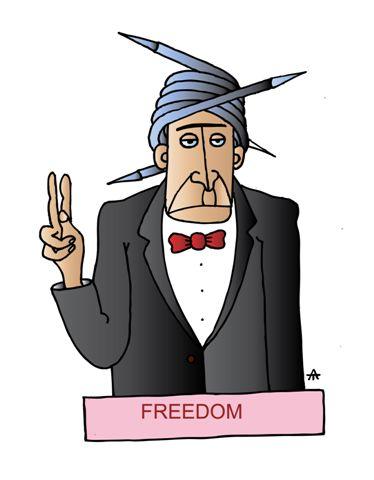 Карикатура: Свобода, Alexei Talimonov