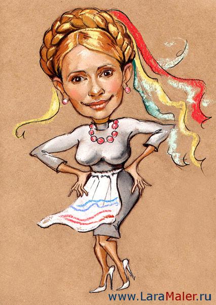 Карикатура: Украинка 100%, lara