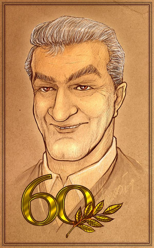 Карикатура: Александр Николаевич Умяров, Kalininskiy (Валентин Калининский)