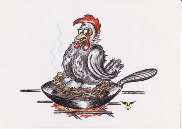 Карикатура: Фастфуд, Владимир Уваров