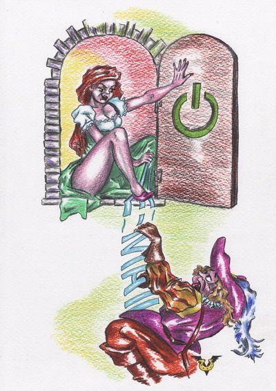 Карикатура: Мыльное свидание, Владимир Уваров