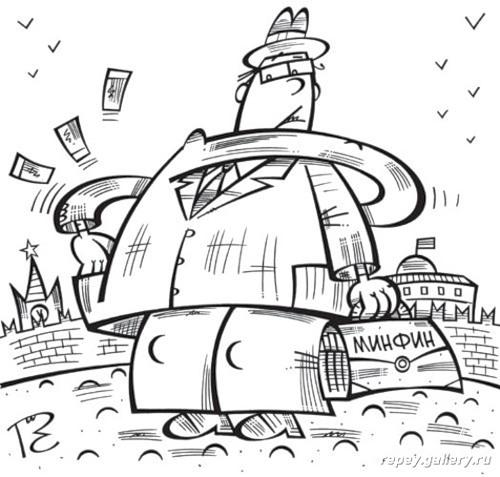 Карикатура: Удивительный случай, Сергей Репьёв