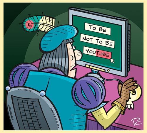 Карикатура: Быть или не быть!?, Сергей Репьёв