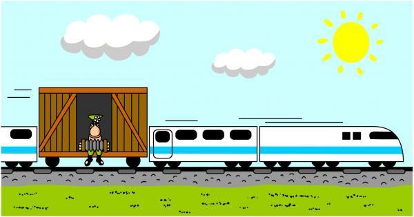 Карикатура: Теплушка, Дмитрий Бандура