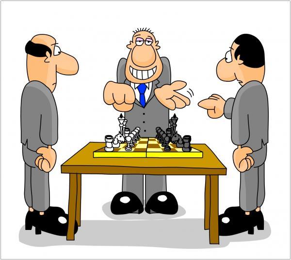 Карикатура: Жребий брошен, Дмитрий Бандура