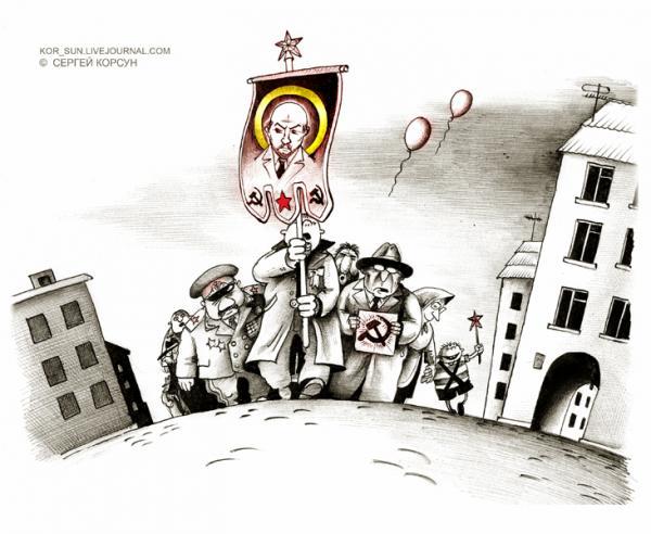 Карикатура: Звездный ход, Сергей Корсун
