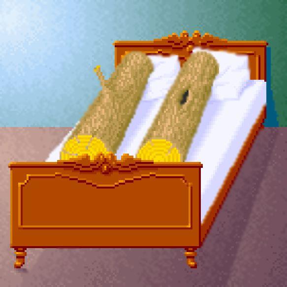 Карикатура: Два бревна, ALEPH