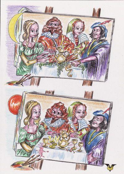 Карикатура: О вкусной и здоровой пище, Владимир Уваров
