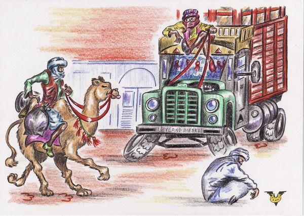 Карикатура: Планета Camel, Владимир Уваров