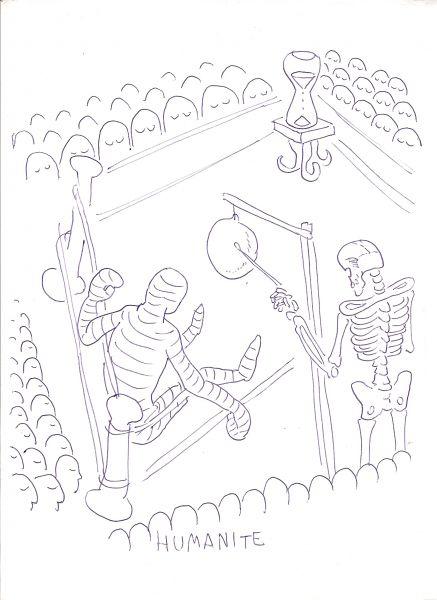 Карикатура: Бой со временем, Даниловский