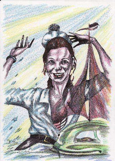 Карикатура: Мечты об Алых парусах, Владимир Уваров