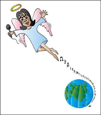 Карикатура: Michael Jackson, Алексей Талимонов
