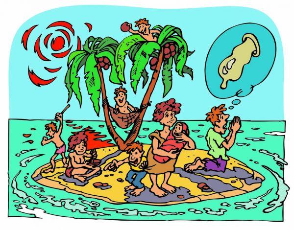 Карикатура: Обитаемый остров, Михаил Жилкин