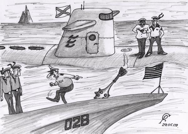 Карикатура: Булава, Серебряков Роман