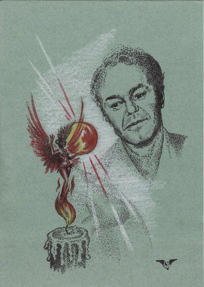 Карикатура: Солнце поэта, Владимир Уваров