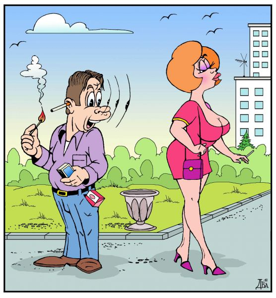 Карикатура: оценил..., виктор дидюкин