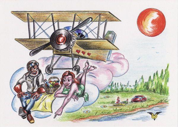 Карикатура: Пикник, Владимир Уваров