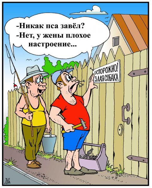 Карикатура: настроение, виктор дидюкин