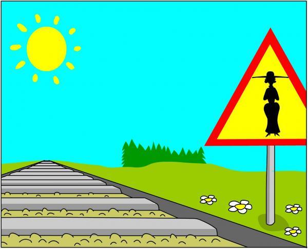 Карикатура: Знак, Дмитрий Бандура