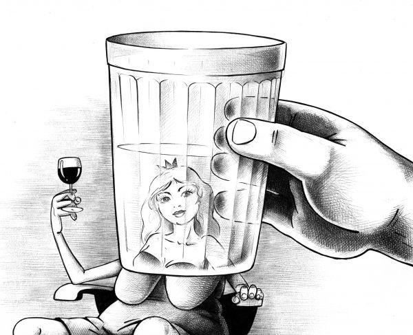 Карикатура: Нет некрасивых женщин, Сергей Корсун