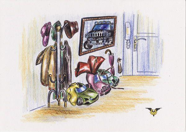 Карикатура: Борьба за экономичность - автошузы, Владимир Уваров