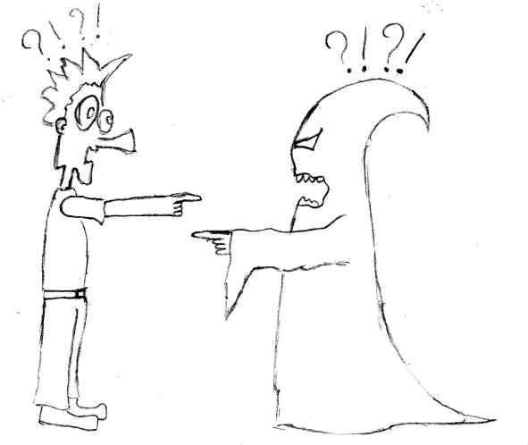 Карикатура: Вот так Встреча, Lionich