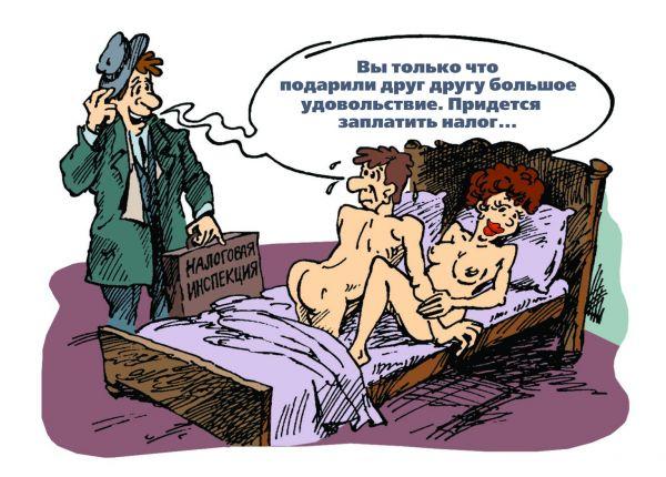 Карикатура: Налог, Михаил Жилкин
