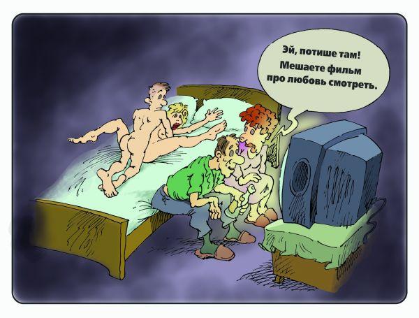 Карикатура: кино, Михаил Жилкин