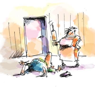 Карикатура: диспут, Iofik