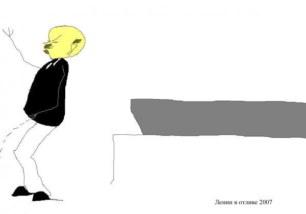 Карикатура: Ночной отлив, Марат Самсонов