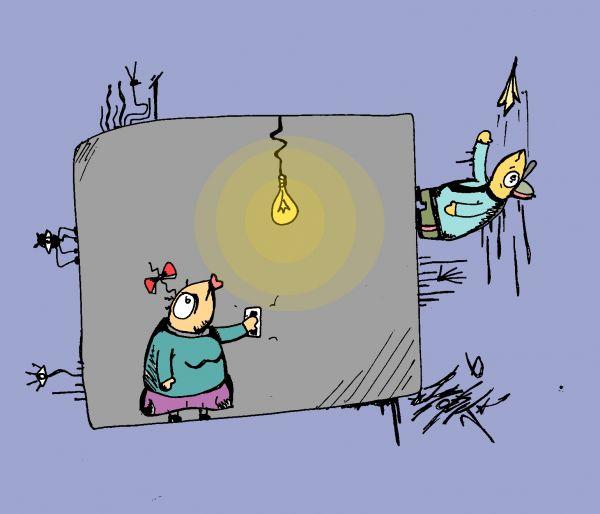 Карикатура: (), zork