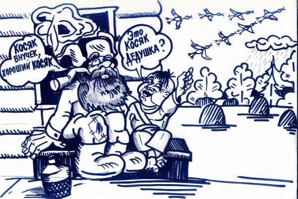 Карикатура: Косяки